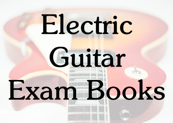 Electric Guitar Exam Books